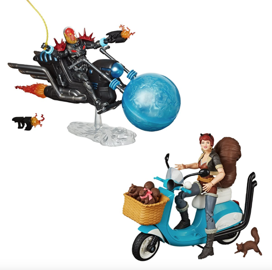 Hasbro Marvel Legends Squirrel Girl On Scooter & Cosmic Ghost Rider Figure Pre-Orders