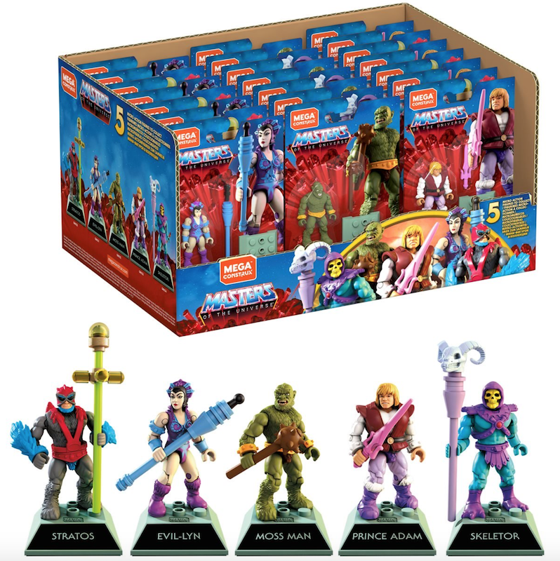 Mega Construx – Masters Of The Universe Heroes Wave 1 Figures