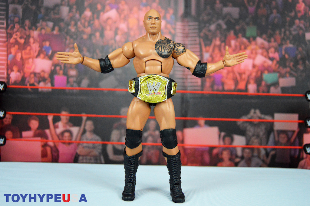 Image result for WWE Royal Rumble Elite Series Target Exclusive The Rock Figure
