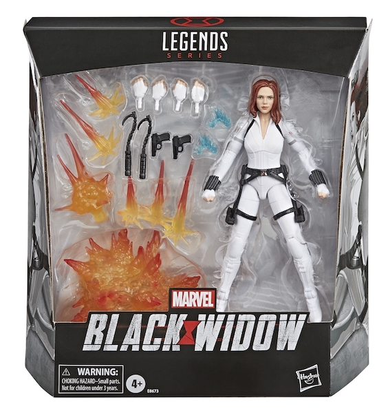 Hasbro Marvel Legends 6″ Black Widow Movie Figure Now $24.99 On Amazon