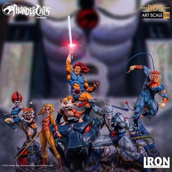Iron Studios – ThunderCats Tygra BDS Art Scale 1/10 Statue Pre-Orders