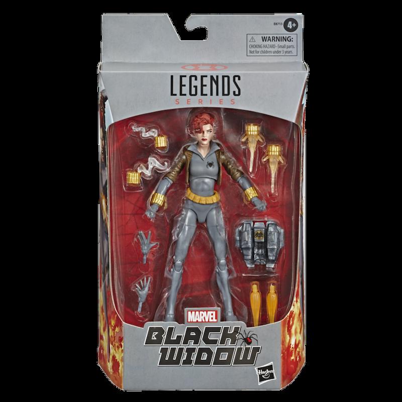 Hasbro Announces Marvel Legends Black Widow Exclusive Figures
