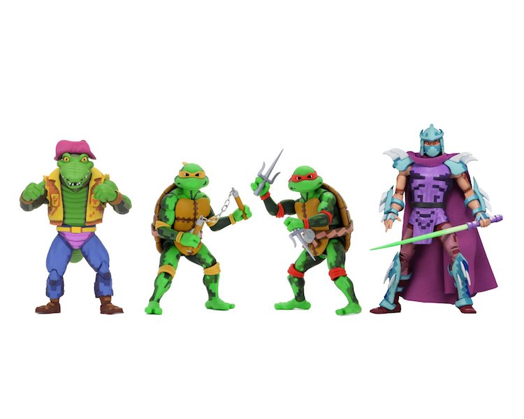 NECA Toys Teenage Mutant Ninja Turtles – Turtles in Time Series 2 Figures Available Now