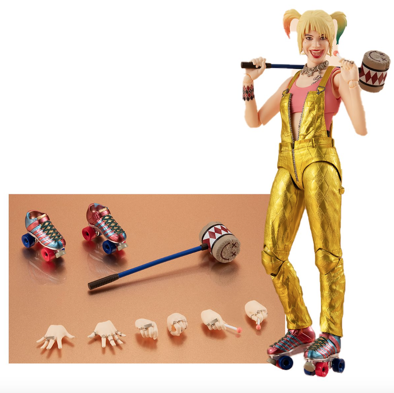 S.H. Figuarts Birds Of Prey: And the Fantabulous Emancipation Of One Harley Quinn Figure Pre-Orders