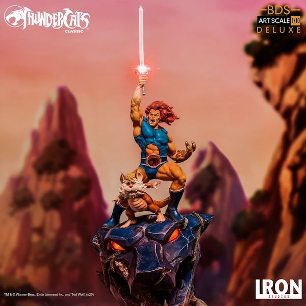 Iron Studios – ThunderCats Lion-O & Snarf BDS Art Scale 1/10 Statue Pre-Orders
