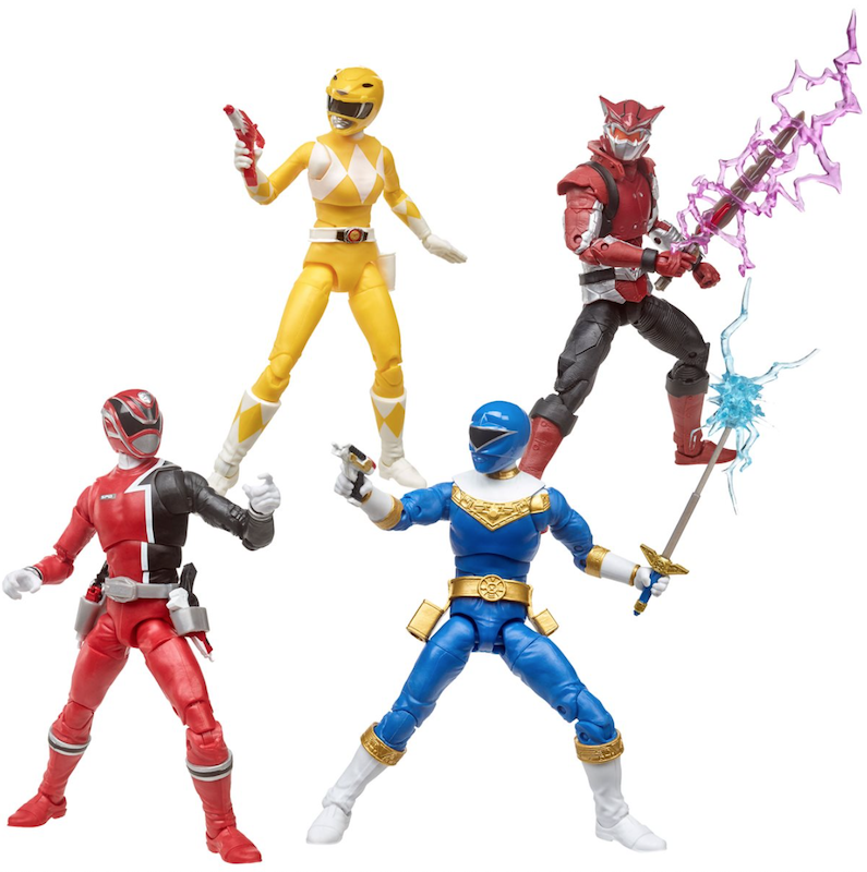 Entertainment Earth – Power Rangers Lightning Collection 6″ Wave 4 Yellow Ranger Figure Pre-Orders
