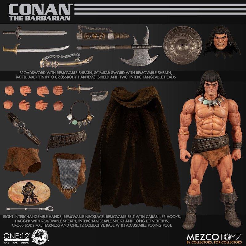 Mezco Toyz One:12 Collective Conan The Barbarian Figure