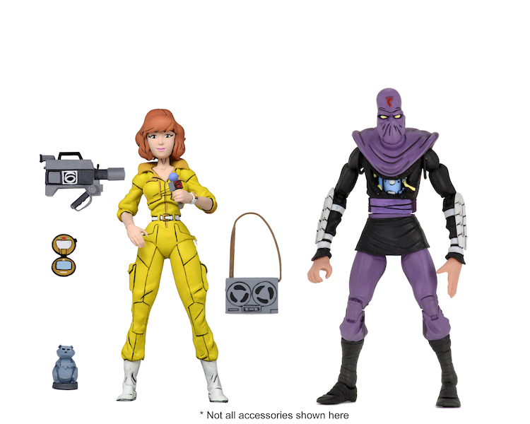NECA Toys Teenage Mutant Ninja Turtles Target Exclusive 2-Pack Wave 3 Figures