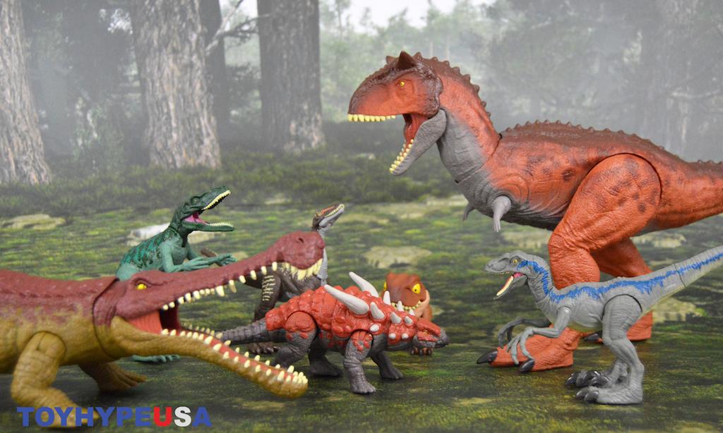 Mattel – Jurassic World Primal Attack Dinosaur Figures Review