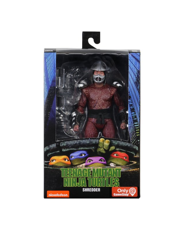 """NECA Toys Teenage Mutant Ninja Turtles 1990 Movie GameStop Exclusive """"The Capture Of Splinter"""" Figures In-Packaging"""