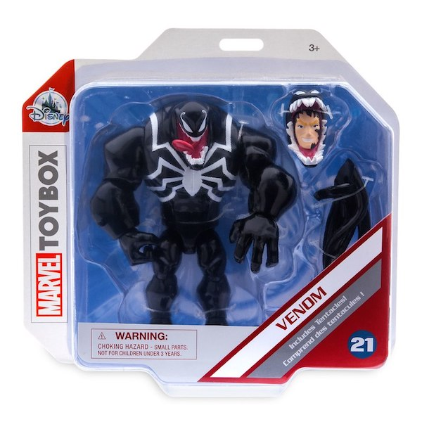 Disney Store Exclusive Marvel Toy Box Venom Figure Available Now