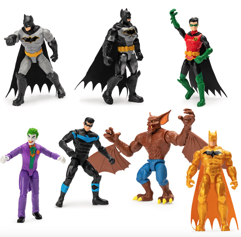 Spin Master – Batman 4″ Action Figures & New Product Line Revealed