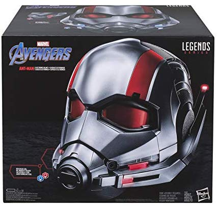 Hasbro Marvel Legends Ant-Man Helmet Prop Replica Now $56 On Amazon