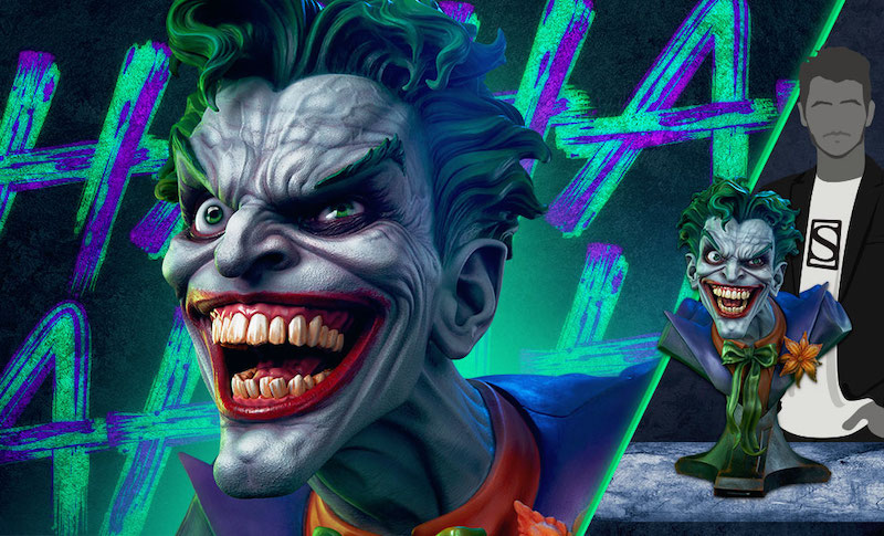 Sideshow Collectibles DC Comics The Joker Life Size Bust Pre-Orders