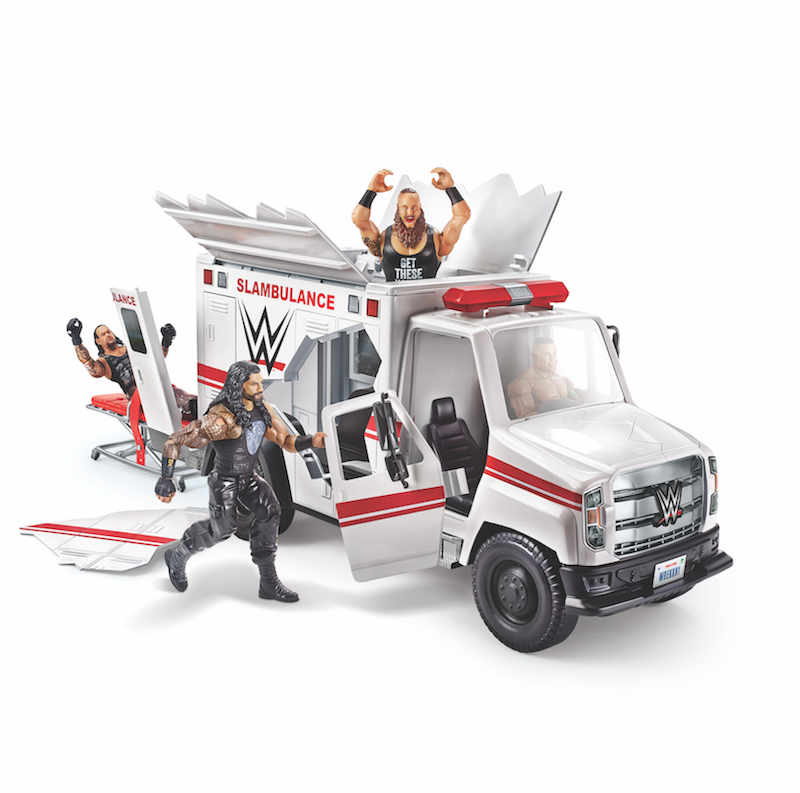 Mattel – WWE Wrekkin' Slambulance Vehicle Shipping From Amazon