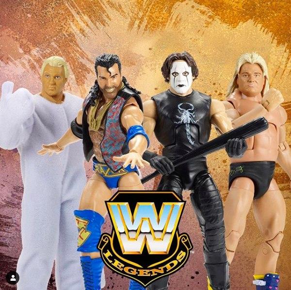NYTF 2020 – Mattel WWE Decade Of Domination & Legends Figures