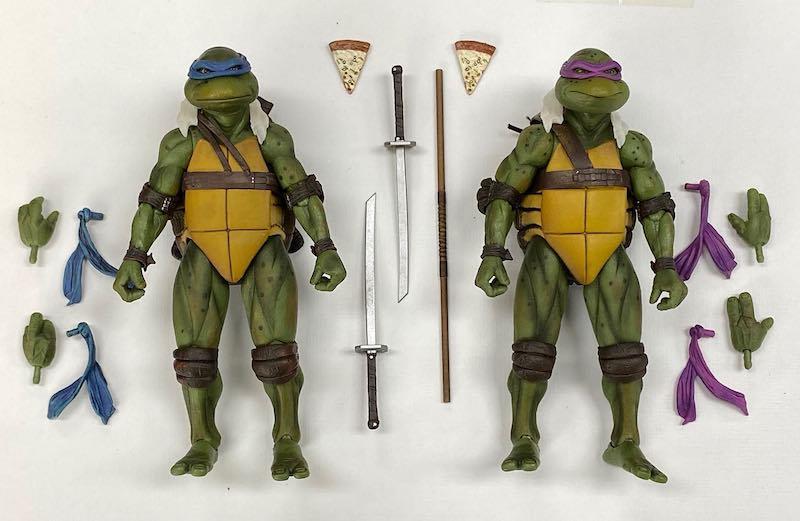 NECA Toys Previews Teenage Mutant Ninja Turtles Movie 30th Anniversary Figures