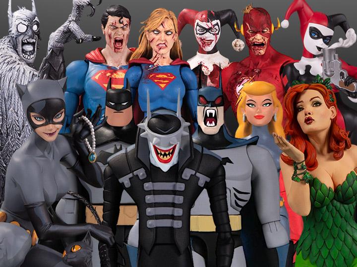 DC Collectibles Solicitations For October 2020 – Batman: The Adventure Continues, DC Essentials & Statues