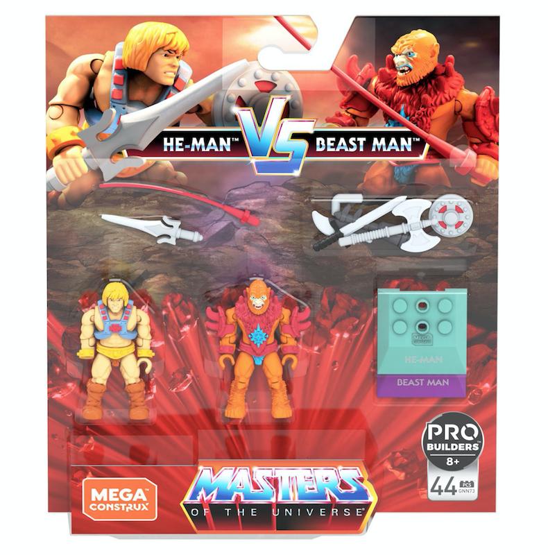 Entertainment Earth – Mega Construx Halo & Masters Of The Universe Final Showdown Mini-Figure 2-Packs In-Stock