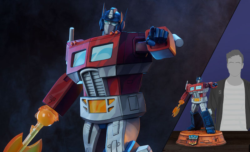 Pop Culture Shock Collectibles – Transformers G1 Optimus Prime Statue Pre-Orders