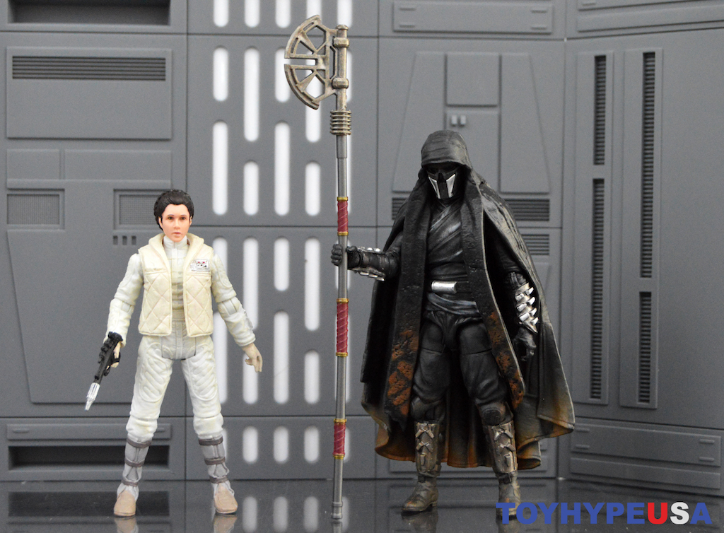 Hasbro Star Wars The Vintage Collection Princess Leia Organa (Hoth) & Knight Of Ren Figures Review