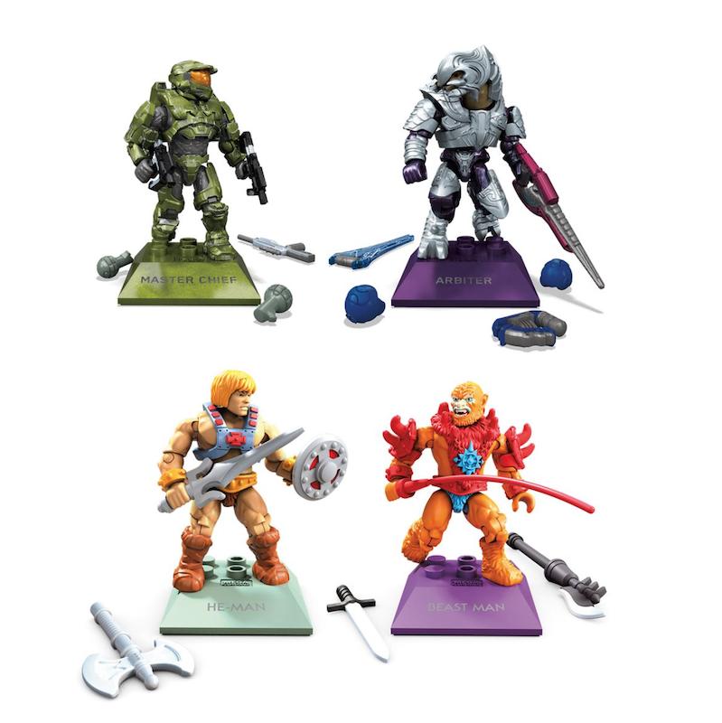 Mega Construx Halo & Masters Of The Universe Final Showdown Mini-Figure 2-Packs