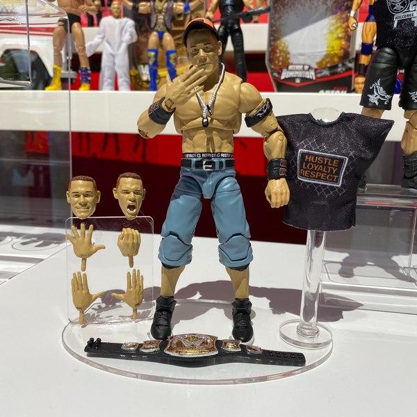NYTF 2020 – Mattel Reveals WWE Ultimate John Cena & Becky Lynch Figures
