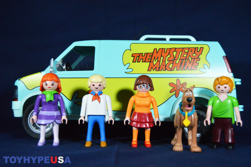 Playmobil Scooby Doo Mystery Machine, Scooby & Shaggy & Villain Blind Bags Review