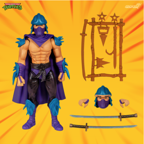 Entertainment Earth – Super7 Teenage Mutant Ninja Turtles Classics Wave 2 Shredder Figure In-Stock