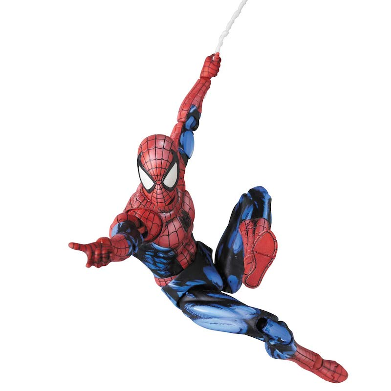 Medicom – Mafex Spider-Man Comic Paint Figure Now $67.97 On Amazon