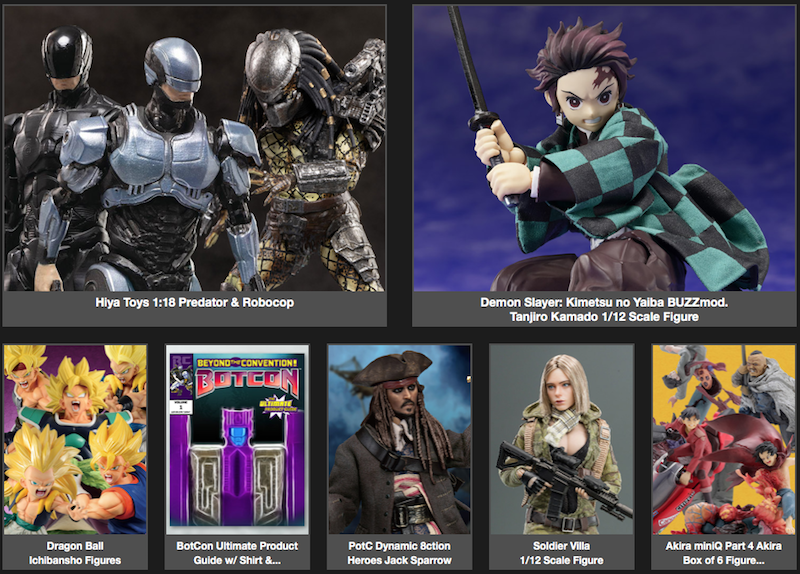 BigBadToyStore Newsletter – RoboCop, Predator, Demon Slayer, DC, Dragon Ball, Doom, Last of Us, Evangelion & More