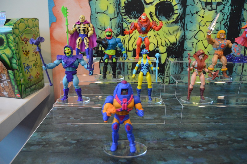 NYTF 2020 – Mattel Showroom Coverage – Masters Of The Universe, Jurassic World, WWE & More