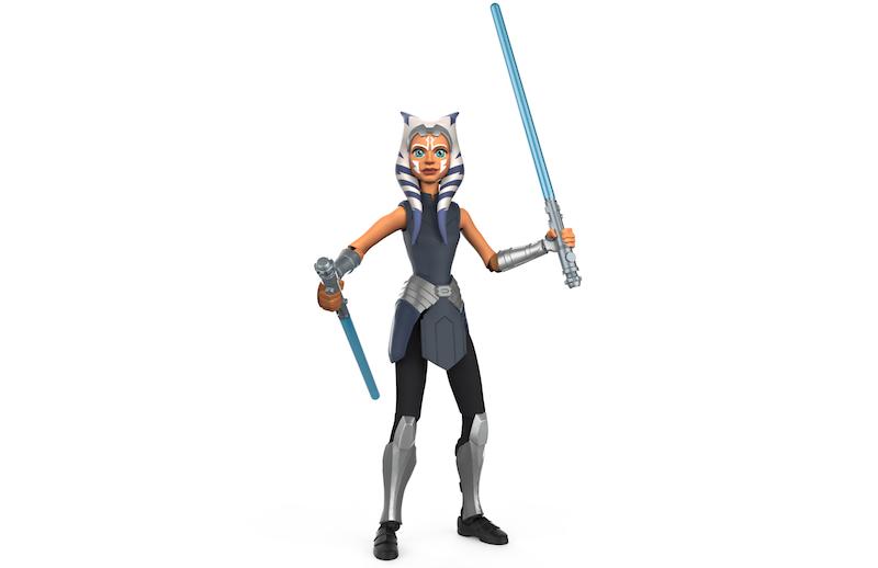 NYTF 2020 – Hasbro Star Wars Galaxy Of Adventures Ahsoka Tano & Ahsoka's Clone Trooper Figures