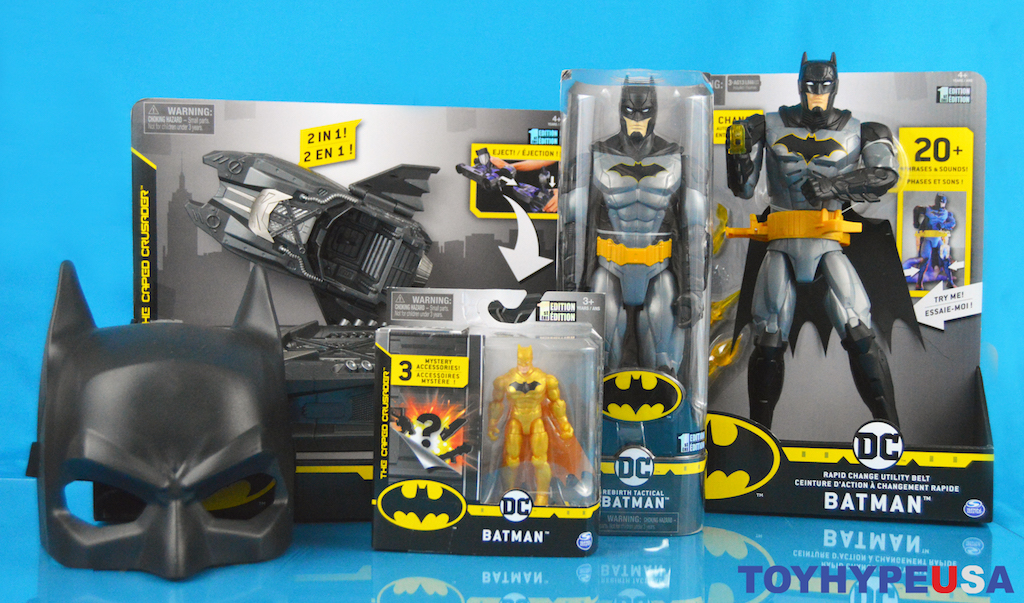 Spin Master – DC Assortment Figures, Batmobile & Roll Items Review