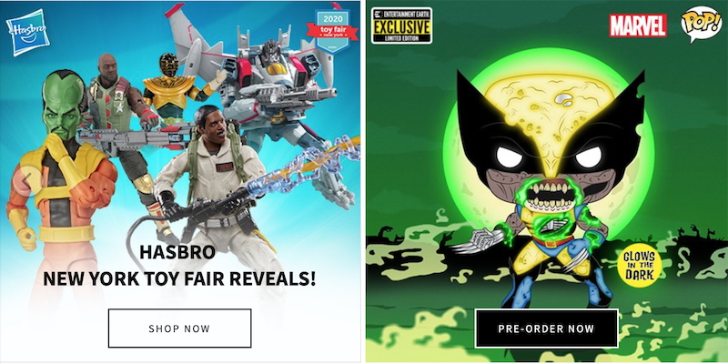 Entertainment Earth – All The Latest New York ToyFair 2020 Products Available To Pre-Order