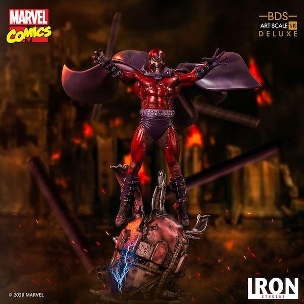 Iron Studios – Marvel Comics Magneto Deluxe BDS Art Scale 1/10 Statue Pre-Orders
