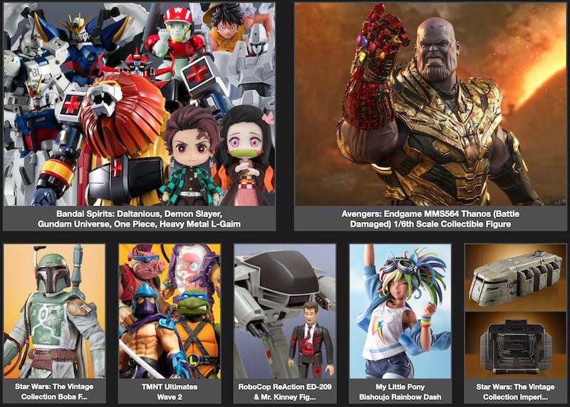 BigBadToyStore Newsletter – TMNT, Venom, Star Wars Vintage, ThunderCats, Robocop, MLP, Demon Slayer, Gundam & More