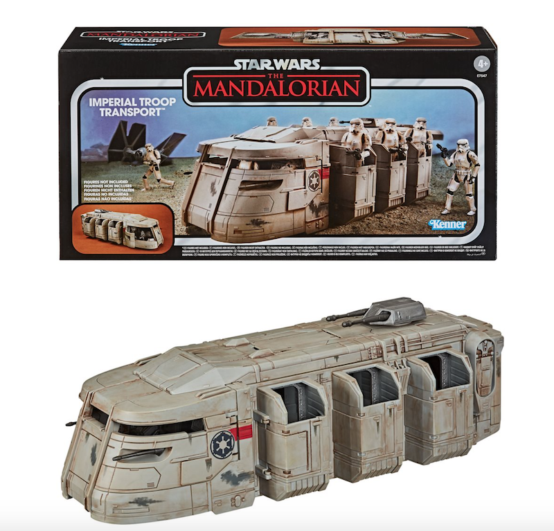 Entertainment Earth – Star Wars The Vintage Collection The Mandalorian Imperial Troop Transport Vehicle In-Stock