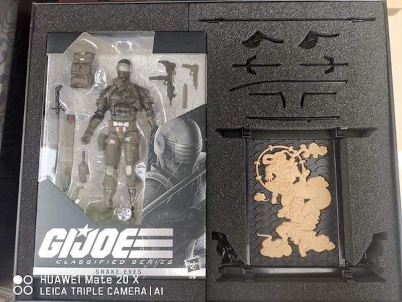 Hasbro G.I. Joe 6″ Classified Snake Eyes Figure Revealed