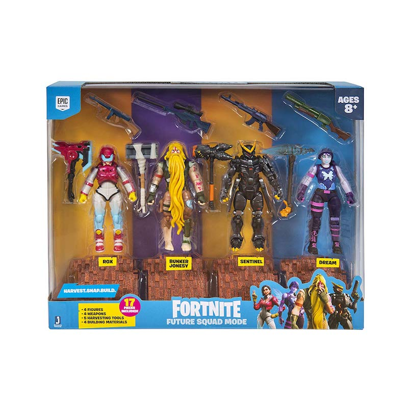 Jazwares – Fortnite 4″ Squad Mode Core Figure Pack In-Stock On Amazon
