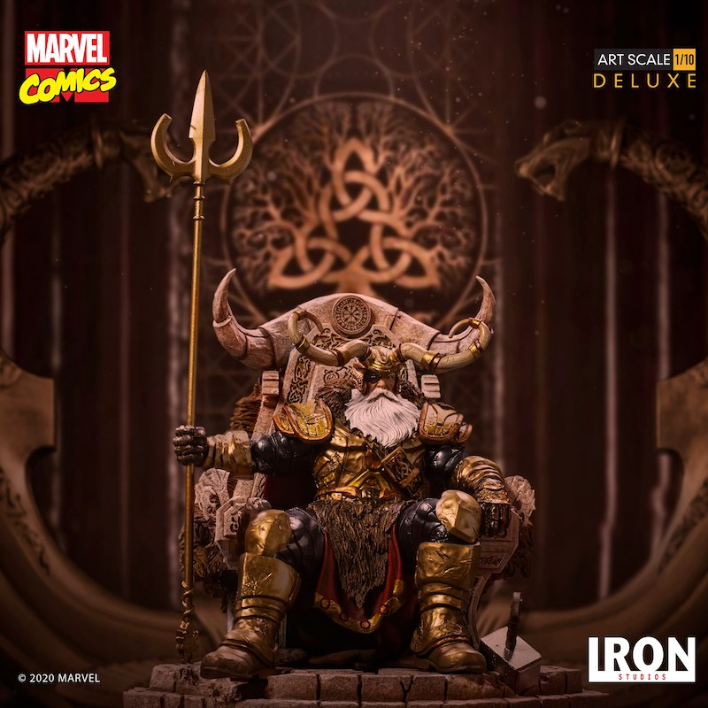 Iron Studios – Marvel Comics Odin Deluxe Art Scale 1/10 Statue Pre-Orders