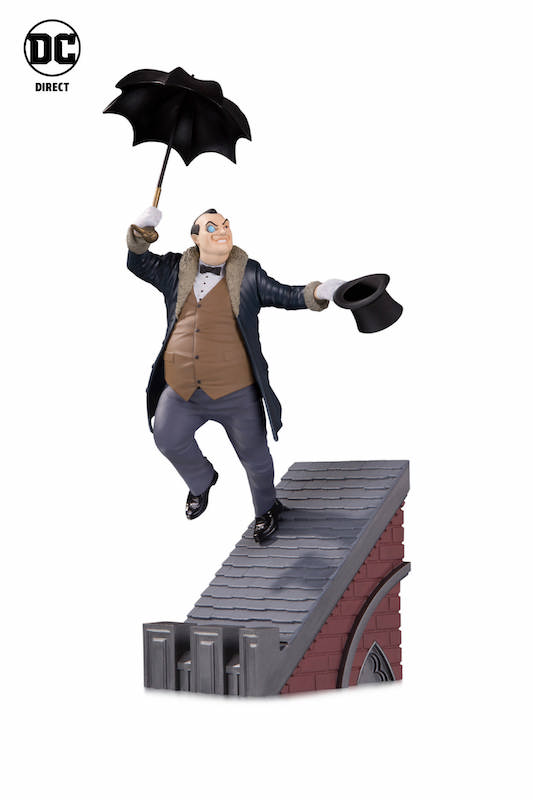 DC Direct In Stores This Week – DC Rogues Gallery Multi Part Statue The Penguin