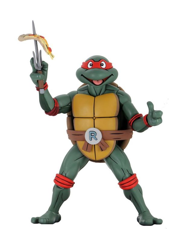 NYTF 2020 – NECA Toys Teenage Mutant Ninja Turtles (Cartoon) – 1/4″ Scale Super Size Raphael