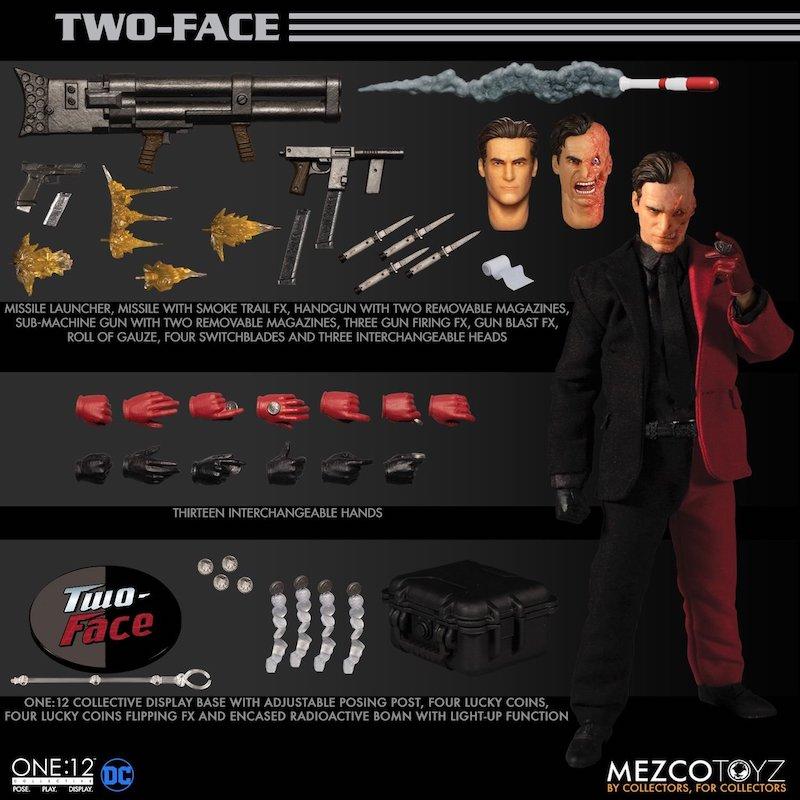 Mezco Toyz DC Comics – One:12 Collective Two-Face Figure