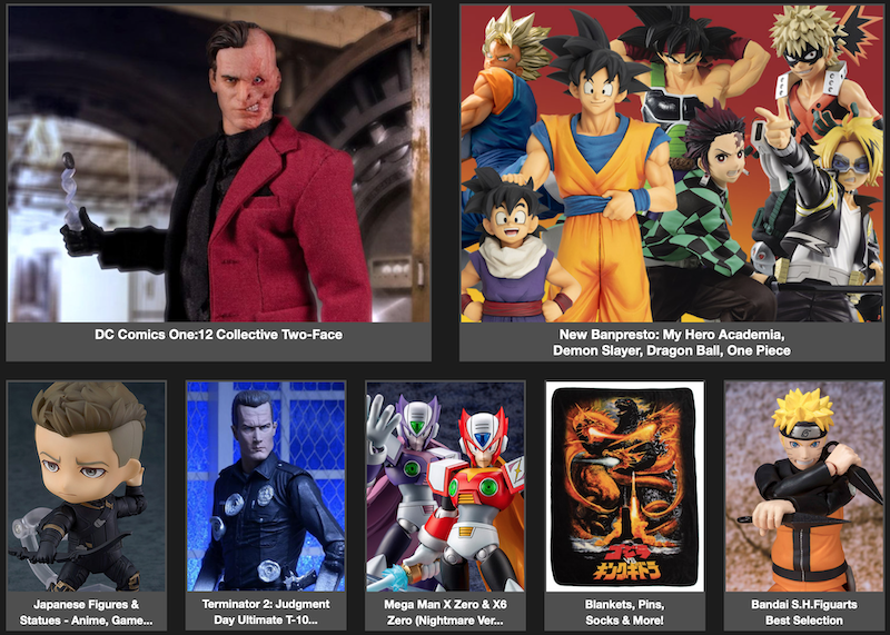 BigBadToyStore Newsletter – ONE:12, Banpresto, Terminator, Mega Man, Dragon Ball, Batman, Devil May Cry & More