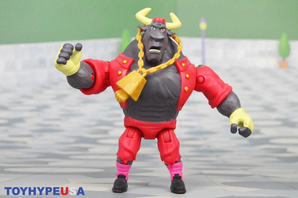 Playmates Toys – Rise Of The Teenage Mutant Ninja Turtles Bull Hop Figure Review