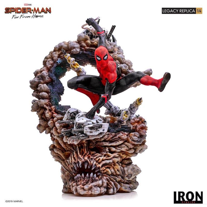 Iron Studios – Spider-Man: Far From Home – Spider-Man Statue