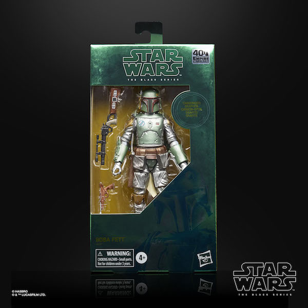 Entertainment Earth – Hasbro Star Wars TBS Carbonized Boba Fett Figure In-Stock