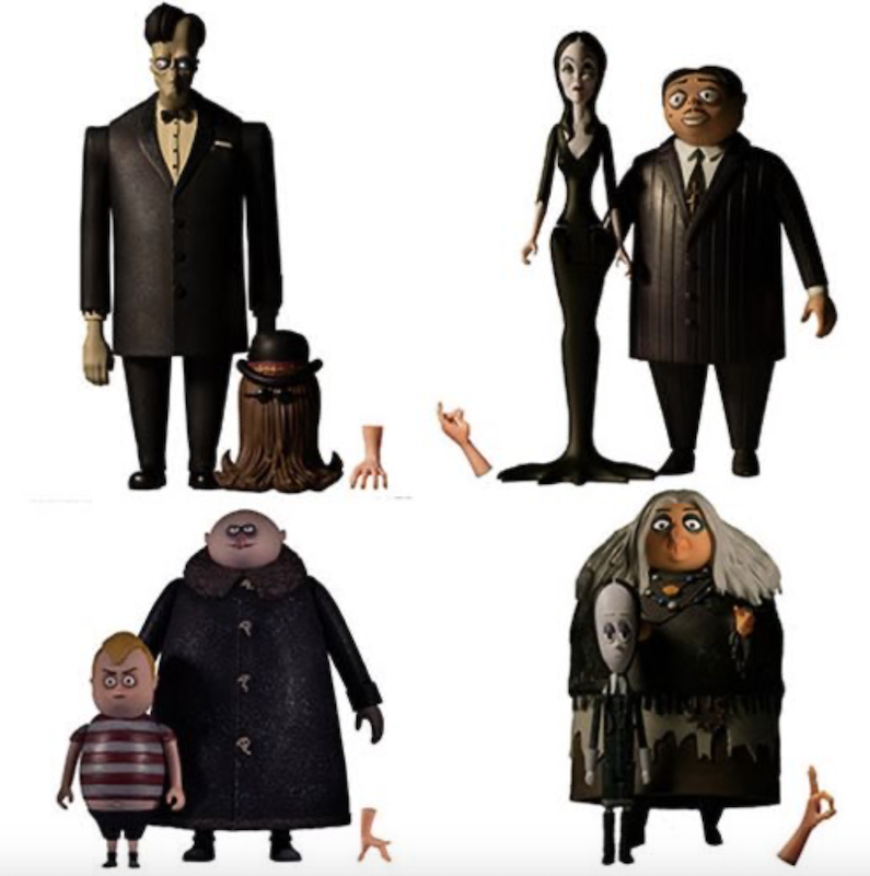 Entertainment Earth – The Addams Family 5 Points Figure 2-Packs In-Stock