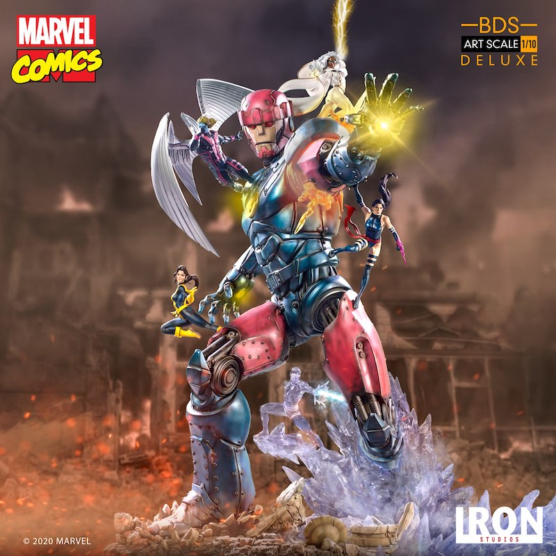 Iron Studios – Marvel Comics X-Men Vs Sentinel #3 Deluxe BDS Art Scale 1/10 Statue Pre-Orders & Exclusive Coupon Code